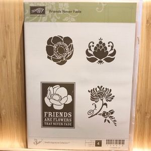 🍒 Stampin'Up! 🍒 «Friends Never Fade» Stamps Set